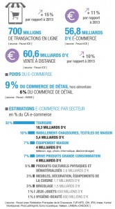E-commerce France : Chiffres clé 2015 - FEVAD