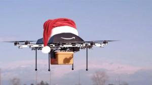 Amazon : le drone Père Noël 2015